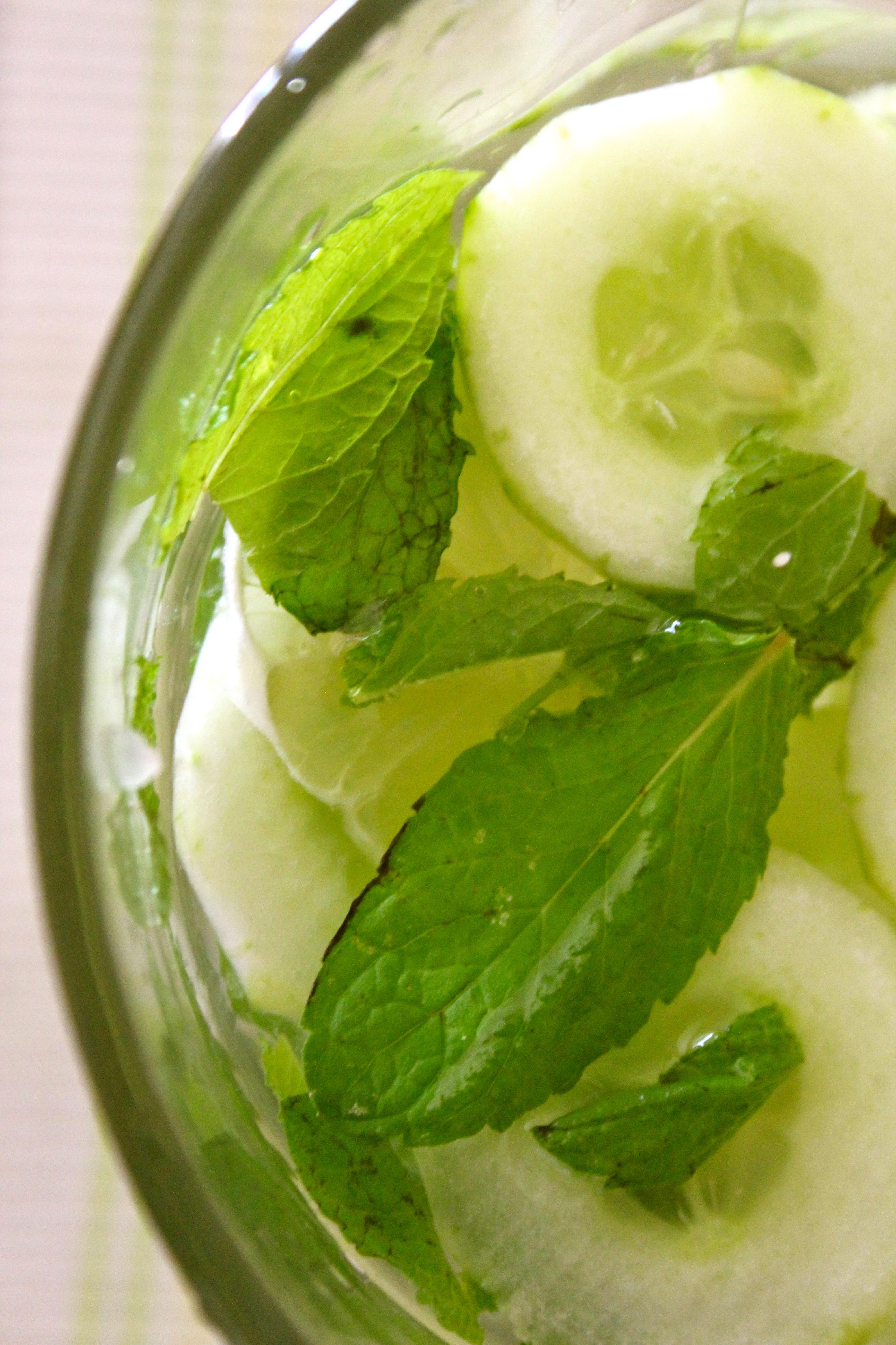Cucumber & Mint Lemonade